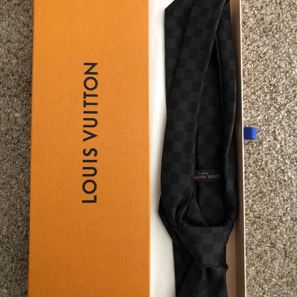 81e1533fe50a Accessories | Louis Vuitton Clasdique Tie | Poshmark